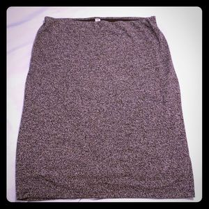 Old Navy cotton skirt size XL